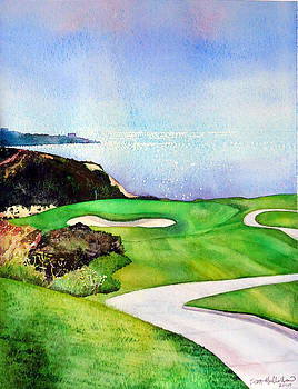 Torrey Pines South Course by Scott Mulholland