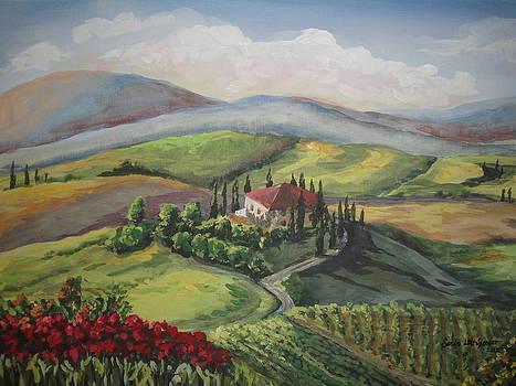 Toscana View by Sandra Lett
