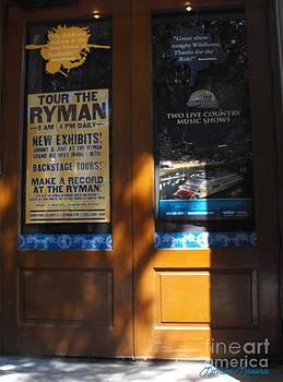 Tour the Ryman by Lorraine Louwerse