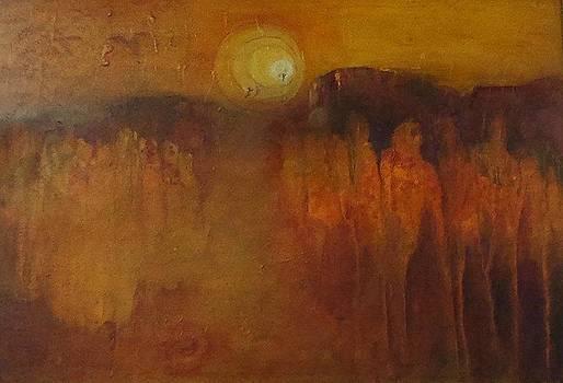 towards Empyrean by Ilona Petzer