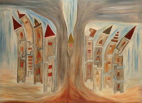 Towel Of Babel by Yaron Ari
