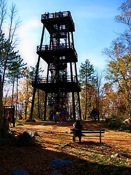 Tower on Rib Mountain by Victoria Sheldon
