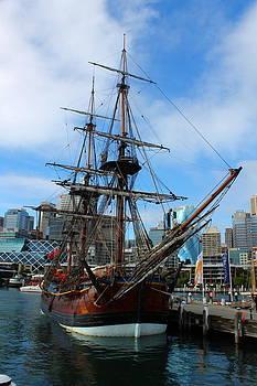 Towering Ship by Harlan Fijal-Campbell