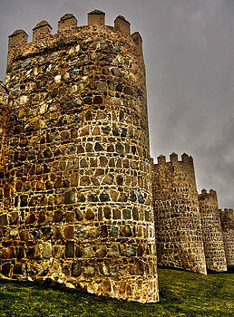 Towers of Avila - Spain by Juergen Weiss