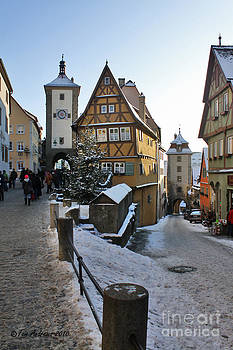 Towers Of Rothburg by Tom Andrews