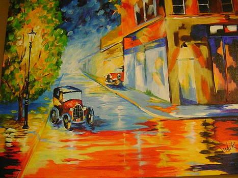 Traffic Jam by Barbara Sudik