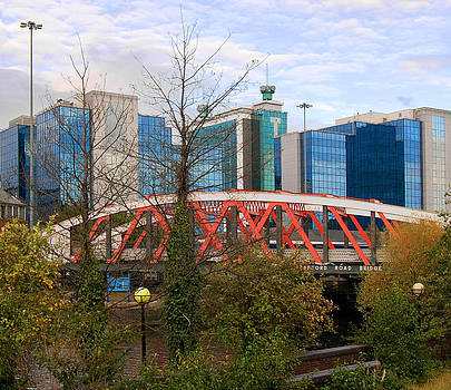 Trafford Road Bridge by Barry Hayton