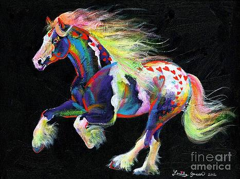 Trail Of Hearts Pony by Louise Green