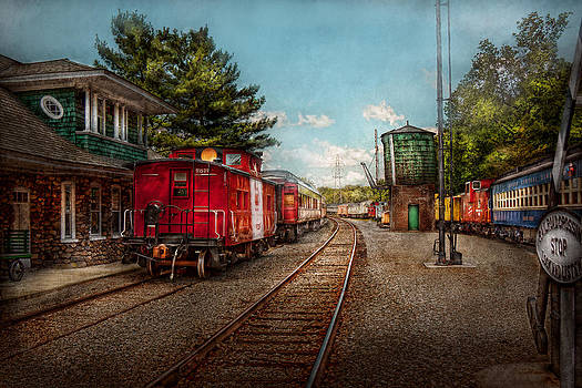 Mike Savad - Train - Caboose - Tickets Please