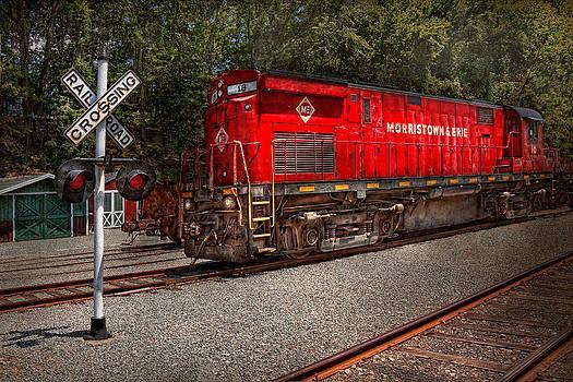 Mike Savad - Train - Diesel - Morristown Erie