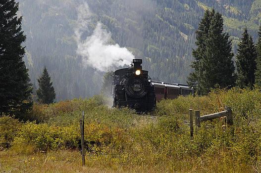 Train Approach by John Wolf