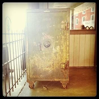 Train Locker by Michelle White
