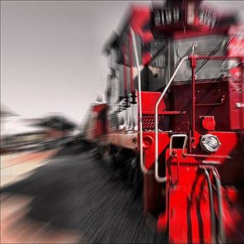 #train #locomotive by Will Lopez