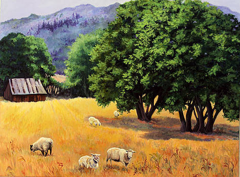 Tranquil Pastures by Donna Drake