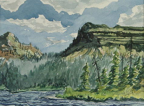 Trappers Lake by Zanobia Shalks