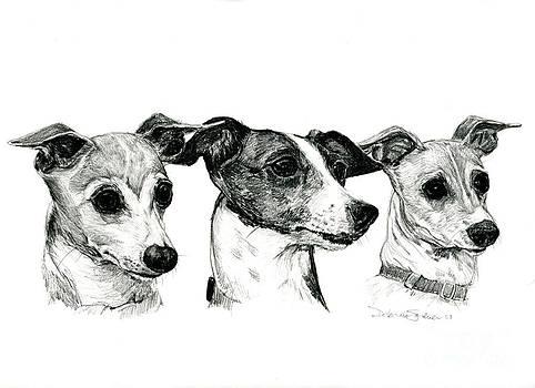 Tre Amici by Deb Gardner