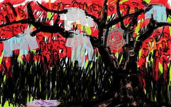 Tree Bleeding by Asaye Nigussie