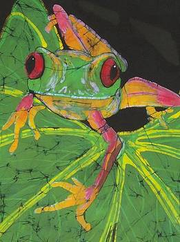 Tree Frog  by Kay Shaffer