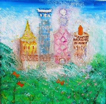 Treehouse Castle by Edie Schmoll