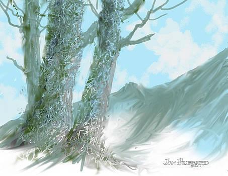 Jim Hubbard - Trees-2colors