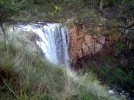 Trentham Falls by Julie Butterworth