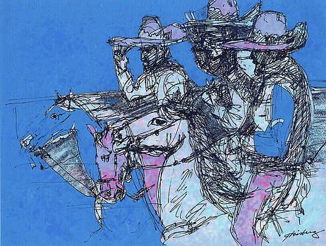 Tres Reyes a Caballo by Dean Gleisberg