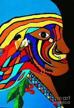 Tribal Indian by Iris  Mora
