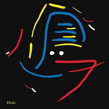 Alec Drake - Tribal Mask
