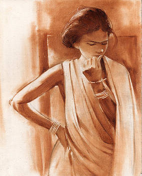 Tribal women by Ravindra Kajari
