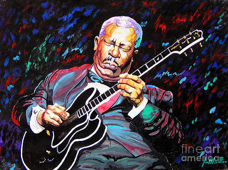 Tribute to BB king by Jose Miguel Barrionuevo