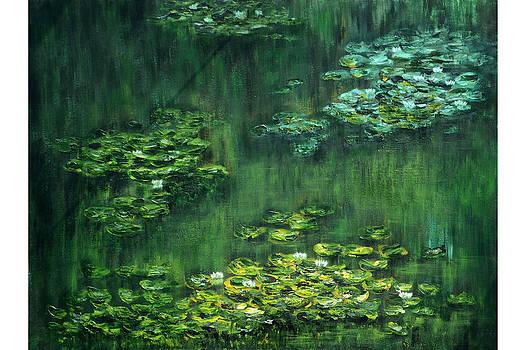 Tribute to Monet 5 by Shankhadeep Bhattacharya