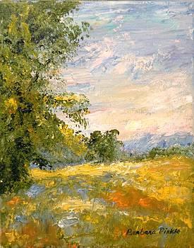 Tribute to Monet by Barbara Pirkle