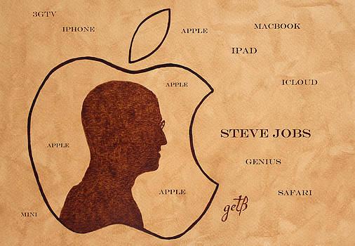 Tribute to Steve Jobs by Georgeta  Blanaru