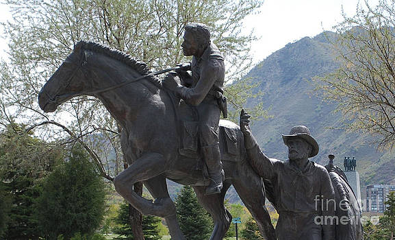 Tribute to the Pony Express by Dwayne Cain