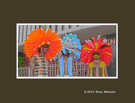 Trini Mas - Indians  by Rosa Mahabir