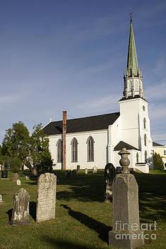John  Mitchell - TRINITY CHURCH Kingston New Brunswick