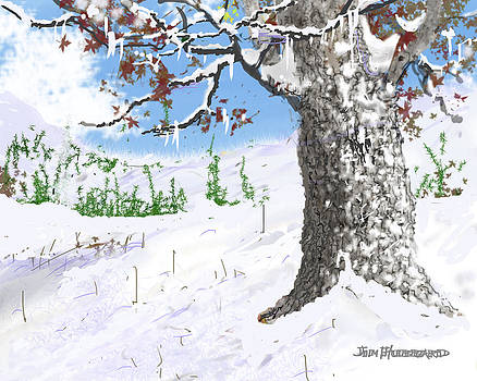 Jim Hubbard - Triptych-Winter