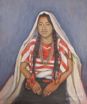 Triqui young woman by Judith Zur