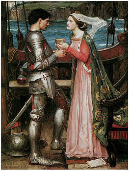 John William Waterhouse - Tristram and Isolde