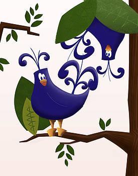 Tropical Birdies by Andrew Fling
