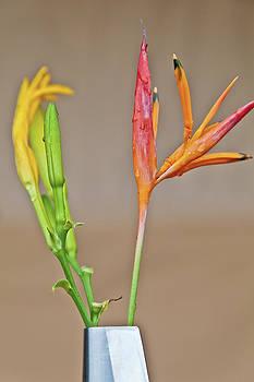 Kantilal Patel - Tropical Bud Vase