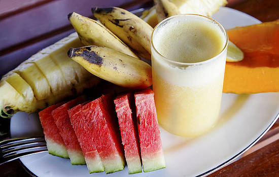 Kantilal Patel - Tropical Fruit Breakfast