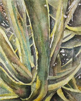 Tropical Greens by Rosie Brown