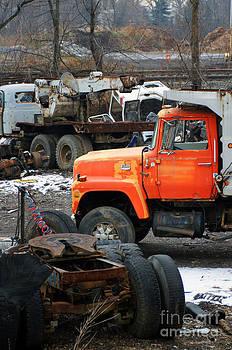 Truck Grave Yard by Maria Varnalis