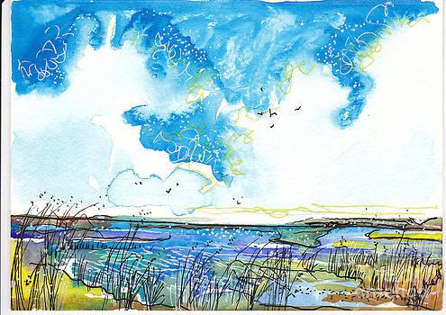 True Blue Marsh by Michele Hollister - for Nancy Asbell