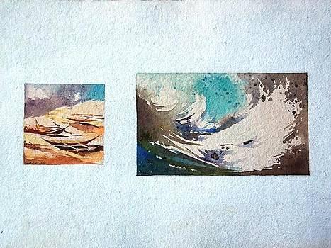 Tsunami Series -1 by Prakash Sree S N
