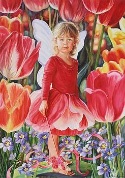 Tulip Fairy by Cherie Sikking