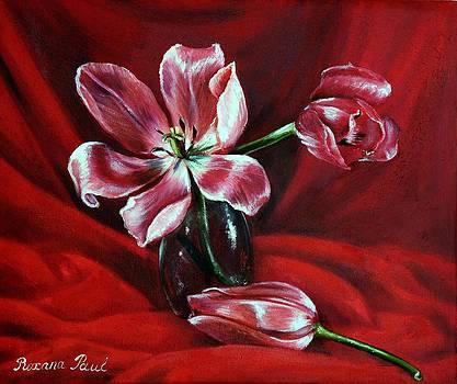 Tulips by Roxana Paul