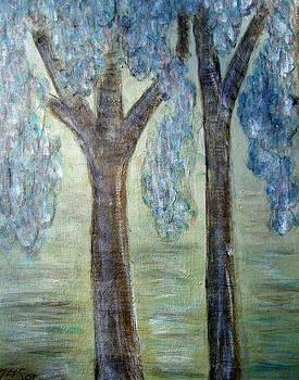 Tumbling Foliage by Melynnda Smith
