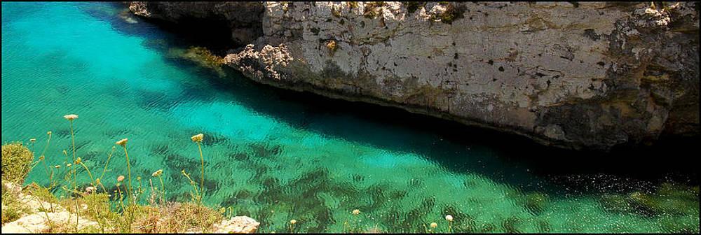 Turquoise Sea by Gunnar Boehme